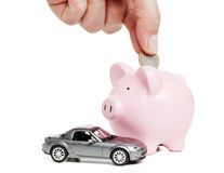 Saving For New Car Royalty Free Stock Photo