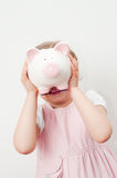 Saving is fun Royalty Free Stock Photography