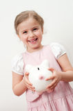 Saving is fun Royalty Free Stock Photo