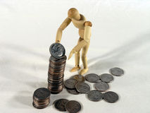 Saving For The Future stock photography