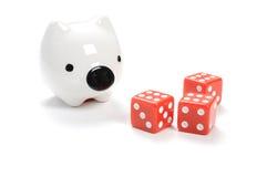 Saving or Gambling Stock Photo