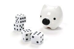 Saving or Gambling Royalty Free Stock Photography