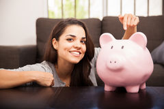 Saving is good for you Royalty Free Stock Photography