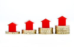 Saving For A House Stock Photography