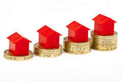 Saving For A House Royalty Free Stock Photography