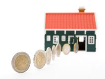 Saving for a house Stock Photo