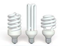 Saving lamps Stock Image