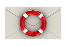 The saving letter Stock Photography