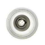 Saving light bulb Royalty Free Stock Photo