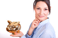 Saving money Stock Image