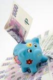 Saving money Royalty Free Stock Photos