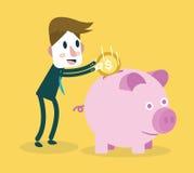 Saving money. Business concept Royalty Free Stock Image