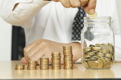 Saving Money - Business Concept Stock Photos