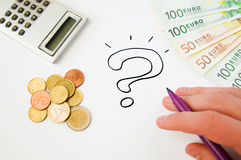 Saving money concept Stock Images
