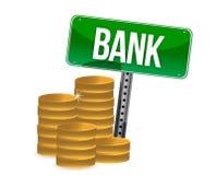 Saving money concept bank coins Stock Photo