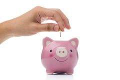 Saving money concept Royalty Free Stock Images