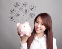 Saving money concept Royalty Free Stock Photo