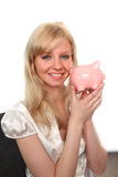 Saving Money in the credit Crunch Royalty Free Stock Photo
