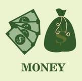 Saving money design Stock Images