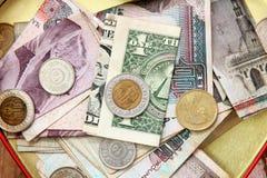 Saving money and donation Royalty Free Stock Photo