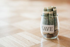 Saving money Royalty Free Stock Photo