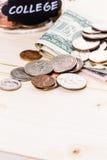 Saving money Stock Image