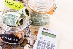 Saving money Royalty Free Stock Image