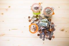 Saving money Royalty Free Stock Photo