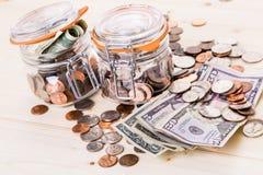 Saving money Stock Photos