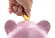 Saving money Stock Images