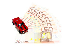 Saving Money for Sport Car Royalty Free Stock Photo