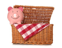 Saving money taking your own picnic Stock Image
