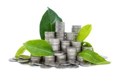Saving money for your investment future habit is similar to gr Stock Image