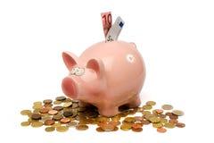Saving pig Stock Photography
