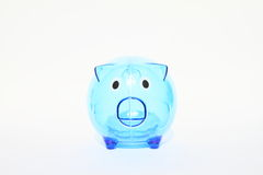 Saving pig Royalty Free Stock Photo