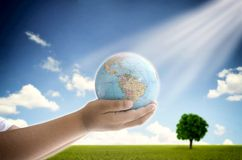 Saving the planet Royalty Free Stock Photography