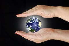 Saving the planet Stock Images