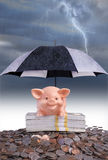 Saving For A Rainy Day Stock Photos