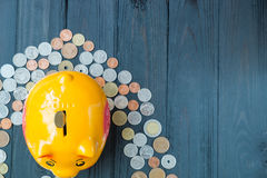 Saving for retirement Royalty Free Stock Images