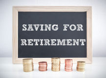 Saving for retirement Royalty Free Stock Photos