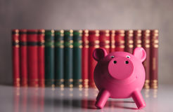 Saving for school concept Stock Photography