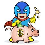 Saving for super future Stock Photo