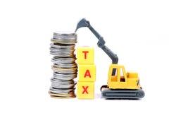 Saving tax Royalty Free Stock Image