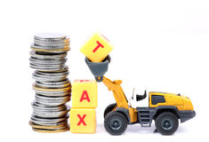Saving tax Stock Photos