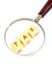 Saving tax Stock Photography