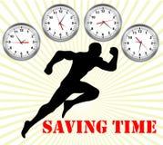 Saving time Royalty Free Stock Photos