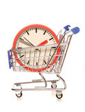 Saving time on your shopping. Cutout Royalty Free Stock Photo