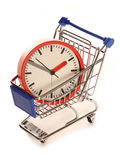 Saving time on your shopping. Cutout Stock Photos