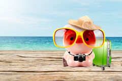 Saving for travel Royalty Free Stock Photo