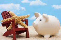 Saving for Vacation Royalty Free Stock Photos